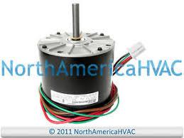 york ac condenser fan motor replacement emerson york coleman condenser fan motor 1 4 hp 208 230 volt