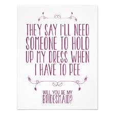 will you be my bridesmaid will you be my bridesmaid ideas secret wedding