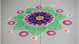 usinghair cls rangoli design using hair clips easy and simple youtube
