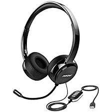amazon com vtin professional car amazon com vtin headset with microphone usb headset 3 5mm