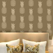 wall stencils images reverse search filename pineapple stencil wall stencils pineapples design wallpaper original jpg