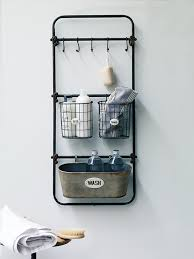 Vintage Bathroom Accessories Idea For The Hallway To Store Sunglasses Winter Hats And Gloves