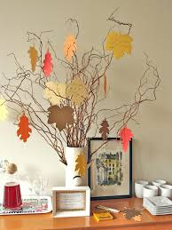 Homemade Thanksgiving Decorations by New Thanksgiving Tradition Create A Thankful Tree Hgtv