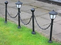 solar lights for chain link fence greenlighting new 2 3 8quot chain link fence cap w solar led