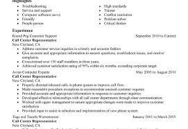 Sample Resume For Call Center Representative Call Center Resume Call Center Representative Resume Simple Call