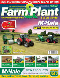 farm u0026 plant ploughing championship issue 2016 by clear designs