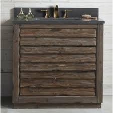 Rustic Wood Bathroom Vanity - rustic bathroom vanities you u0027ll love wayfair
