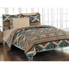 geometric pattern bedding southwestern comforter set li bedding features a geometric southwest
