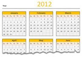 2012 calendar template microsoft excel sample engineering thesis