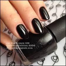 opi i lily love you nail polish layered over black opi
