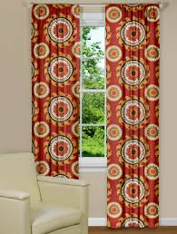Large Print Curtains Modern Curtains Ponderosa Russett Panel