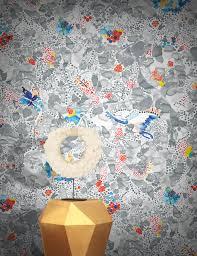 la cueillette wallpaper by claire de quénetain feathr
