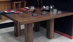carré cuisine tables en bois massif signature stéphane dion