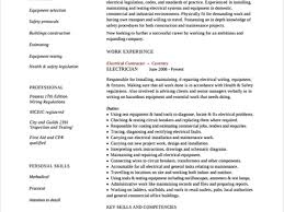 related free resume examples resume for electrician apprentice