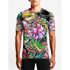 psychedelic tattoo guys tees well that design really takes