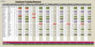 Tracking Spreadsheet Template Employee Training Tracking Spreadsheet Template Glasgowfocus