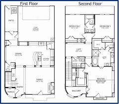 small 2 story floor plans 2 story floor plans fresh 20 2 story floor plans small home