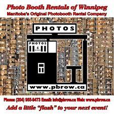 Photobooth Rental Photo Booth Rentals Of Winnipeg Pbrow