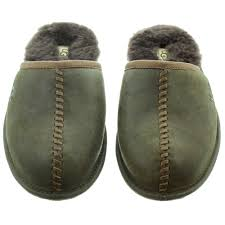 ugg mens slippers sale uk ugg mens scuff deco slippers in stout in stout