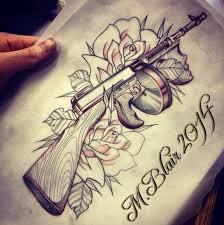 44 best gun tattoos images on pinterest gun tattoos tattoo