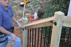 How To Install A Banister Decks Com Deck Stair Railings