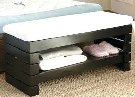 end bed bench white storage bench ezpassclub storage benches for bedroom white
