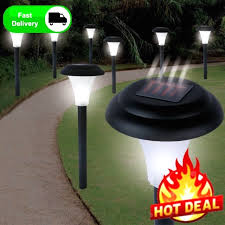 solar powered led light with brite led motion detector