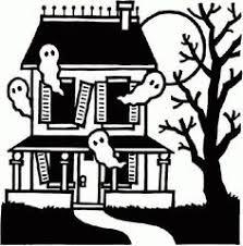 haunted house cartoon clip art house plans ideas