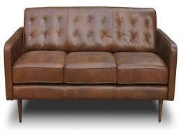 Black Leather Mid Century Sofa Furnitures Mid Century Leather Sofa Luxury Antiques Atlas