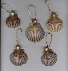 25 unique seashell ornaments ideas on