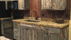 diy rustic kitchen cabinets barnwood kitchen cabinets rustic with denver down faucets within