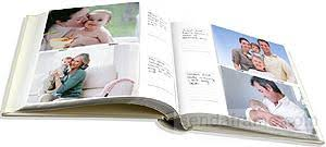 pearhead side photo album baby pink album with spine photo by babyprints pearhead