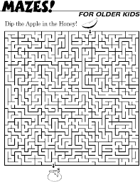 coloring page attractive fun printable mazes for adults coloring