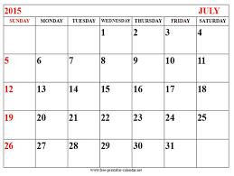 printable calendar 2015 for july 43 best july 2015 calendar images on pinterest printable stencils