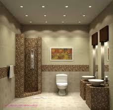 chic ceiling lights for elegant bathroom idea simple bathroom