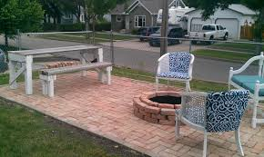 Laying Patio Pavers by How To Make A Patio And Impress Your Friends Amy Allender Dot Com