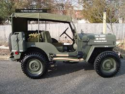 american army jeep jeep cj 3b information and photos momentcar