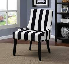 Black And White Striped Accent Chair Black And White Striped Accent Chair Trends With Blue Picture
