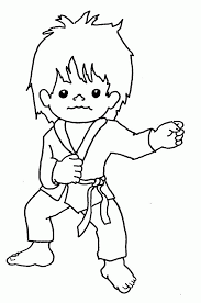 10 pics of taekwondo coloring pages karate monkey coloring pages