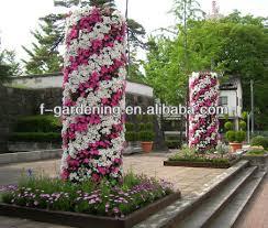 hydro plastic vertical garden wall planter diy flower pots sol