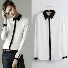black blouse with white collar black sheer blouse with white collar blue denim blouses
