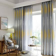 rideaux cuisine porte fenetre américain de mode simple design moderne tissu de rideau salon rideau