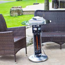 electric tabletop patio heater amazon com ener g freestanding outdoor electric patio heater