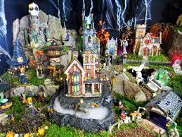 miniature halloween village valley view farms halloween