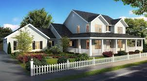 farmhouse house plans architectural designs