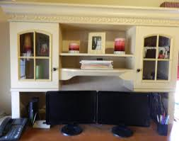 Desk Decorating Home Office Divine Cabinets And Led Tv For Luxury Offices Custom