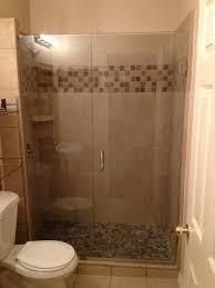 Glass Shower Doors Frameless Glass Showers Frameless Shower Door Small Bathroom Pinterest