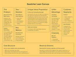 Simple Business Model Template Xtensio How To Create A Lean Canvas