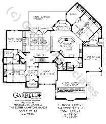 Manor House Floor Plan South Hampton Manor House Plan Estate Size House Plans