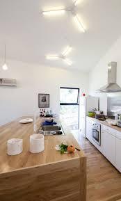 Triangle Shaped Kitchen Island Alluring Contemporary Kitchen With L Shape Kitchen Island Also